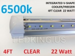 INT V 4FT 24W 6500K CLR